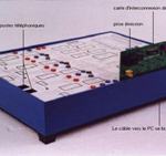 Plate-forme d'autocomutateur pédagogique T2000